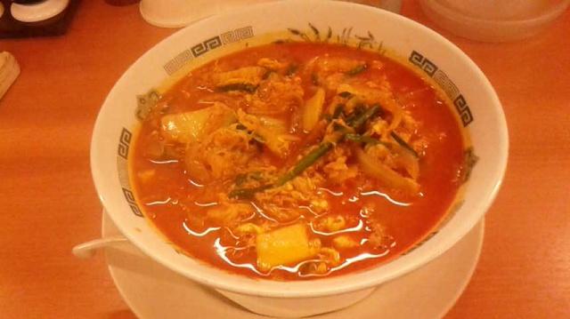 冬季限定の美味いラー麺