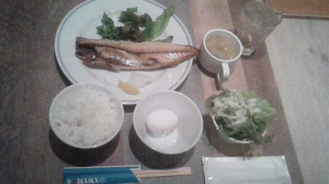 私は大の焼き魚好き